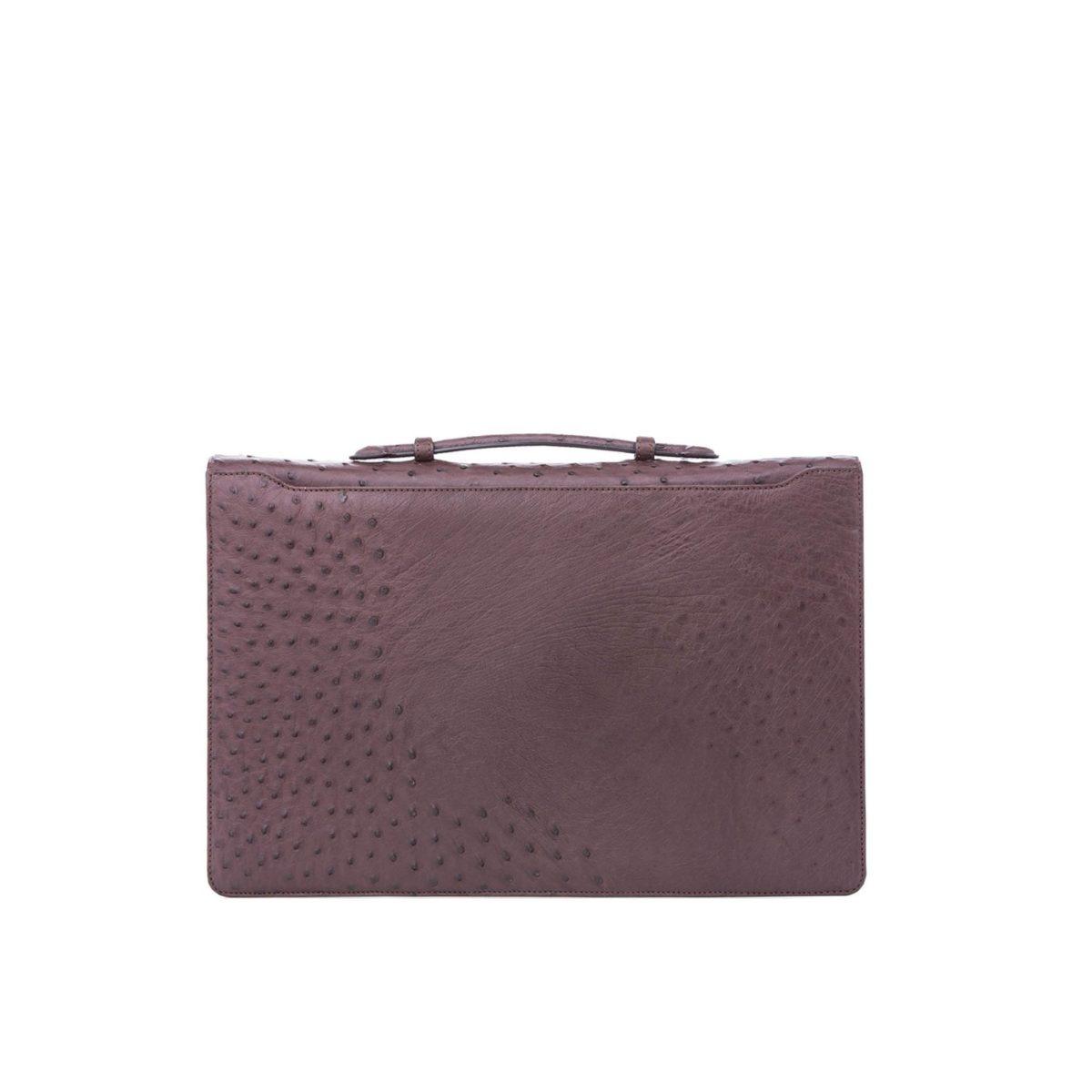 Single clasp briefcase 3