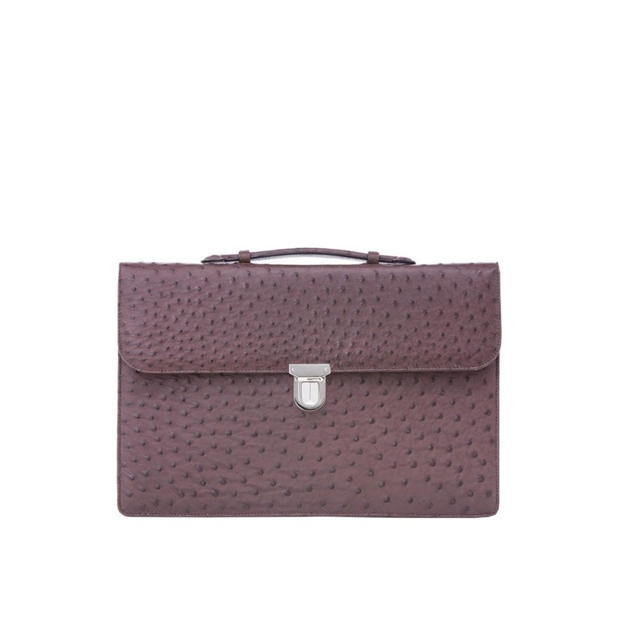 Single clasp briefcase 1