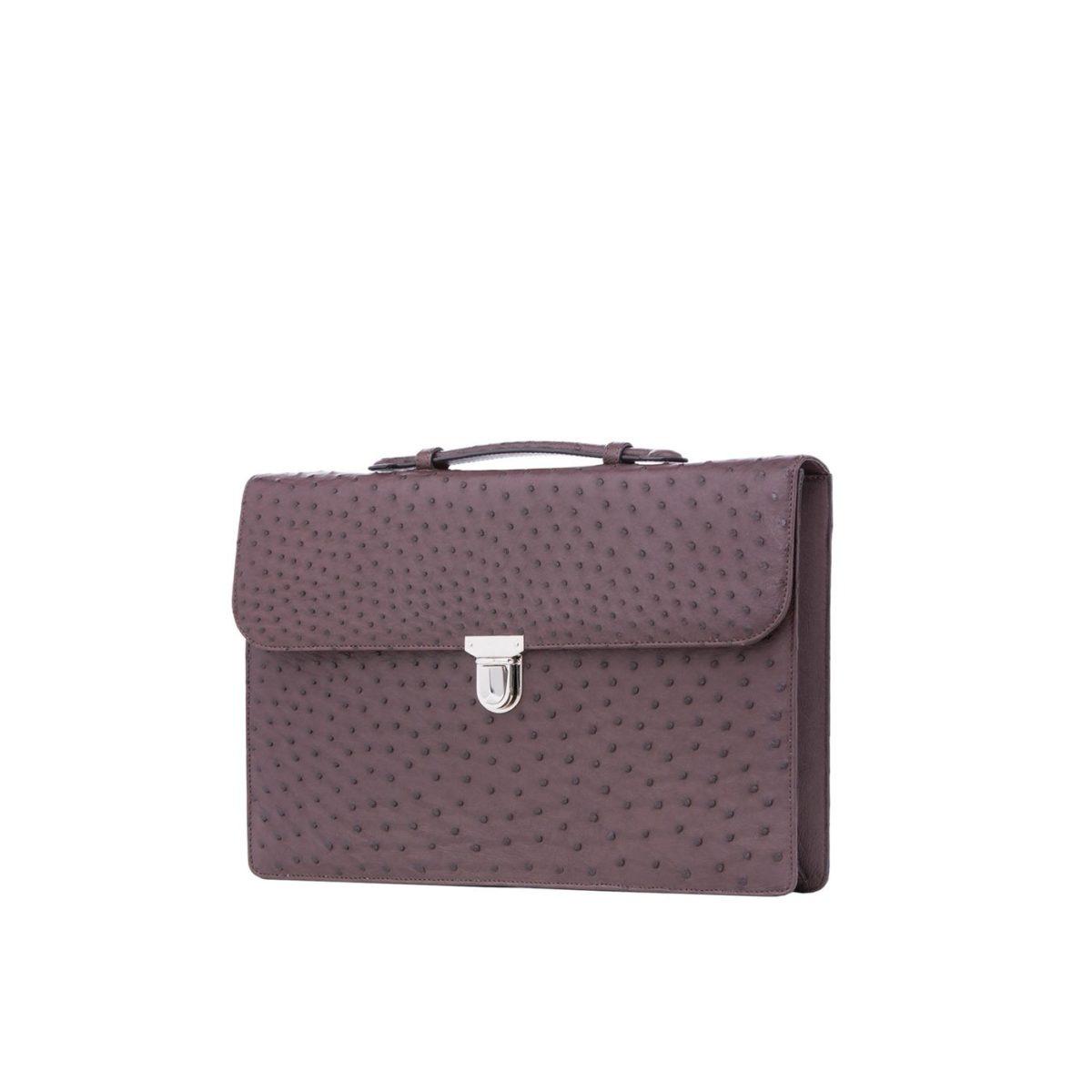 Single clasp briefcase 2