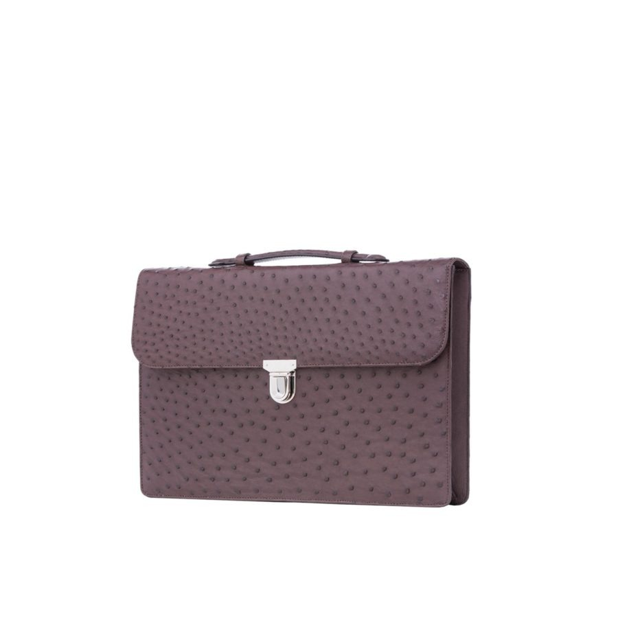Single clasp briefcase 2