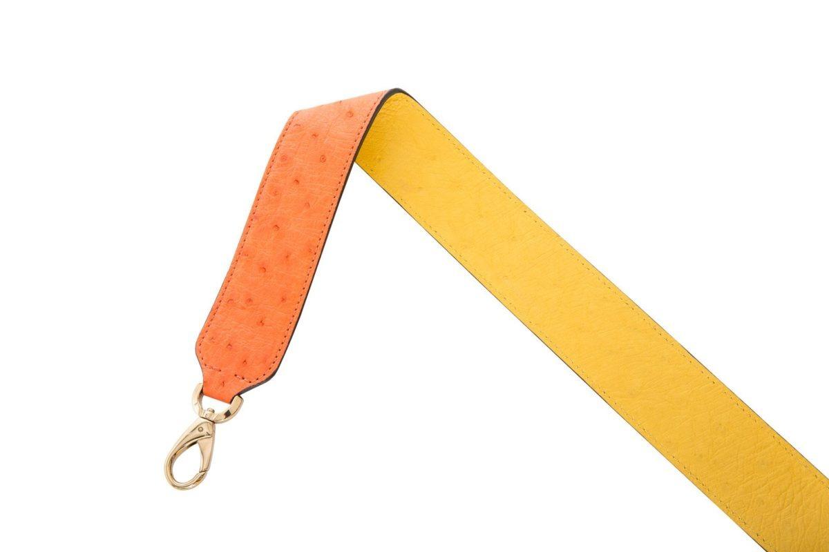 Reversible strap in Tangerine/Sun 2