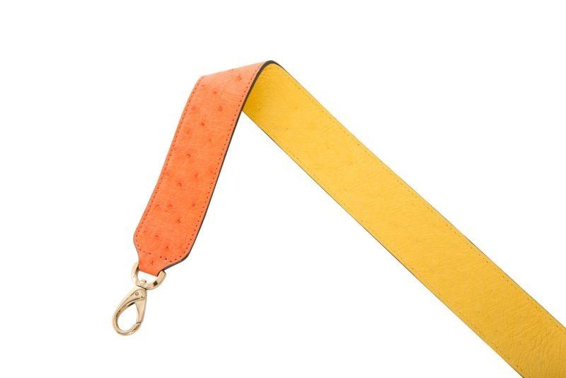 Reversible strap in Tangerine/Sun 1