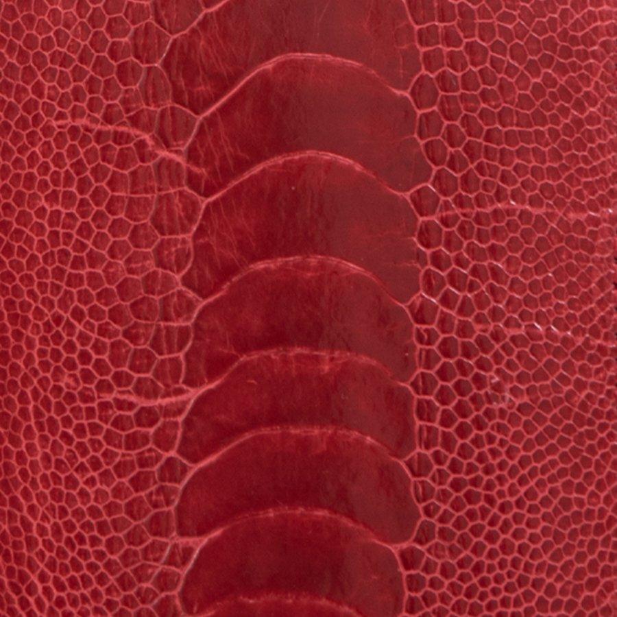 Ostrich Shin Red