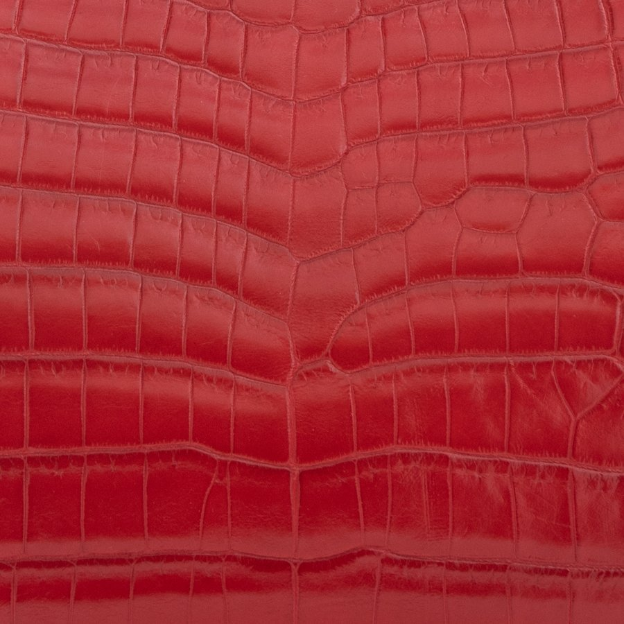 Crocodile Soft Gloss Red