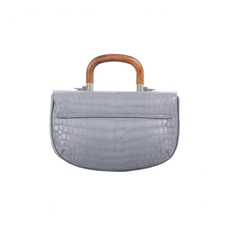 Picco in Sky Grey Crocodile 3