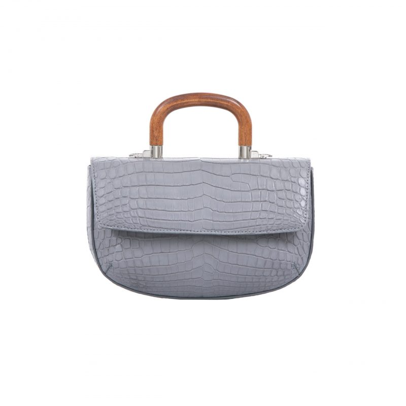 Picco in Sky Grey Crocodile 1
