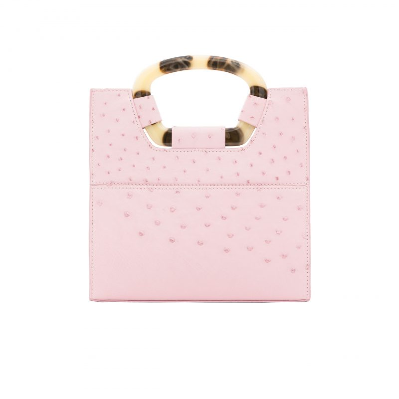 Palma in Powder Pink Ostrich 4