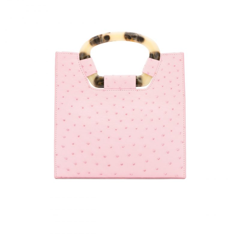 Palma in Powder Pink Ostrich 3