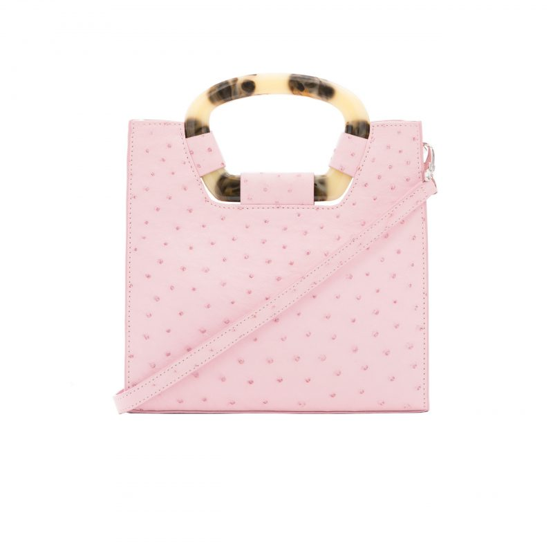 Palma in Powder Pink Ostrich 1
