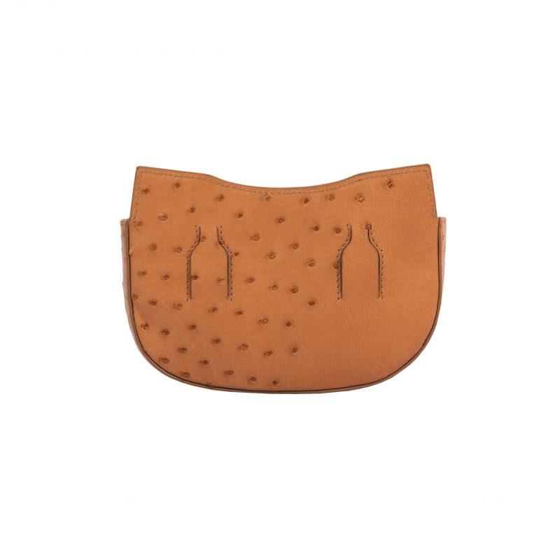 Fallow Beltbag in Cognac Ostrich 4