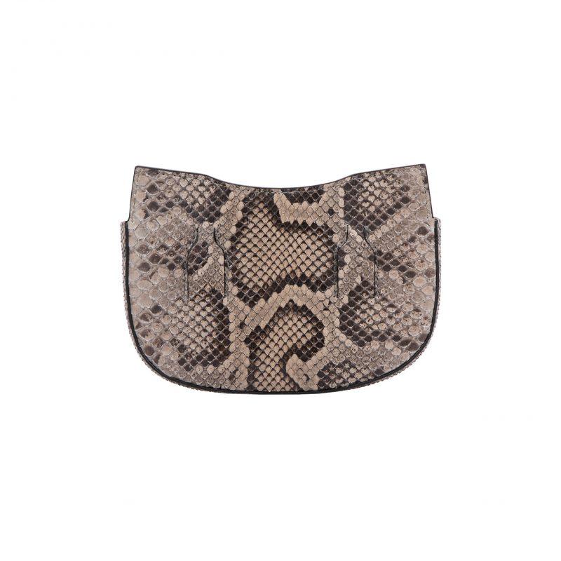 Fallow Beltbag in Nutmeg Python 4