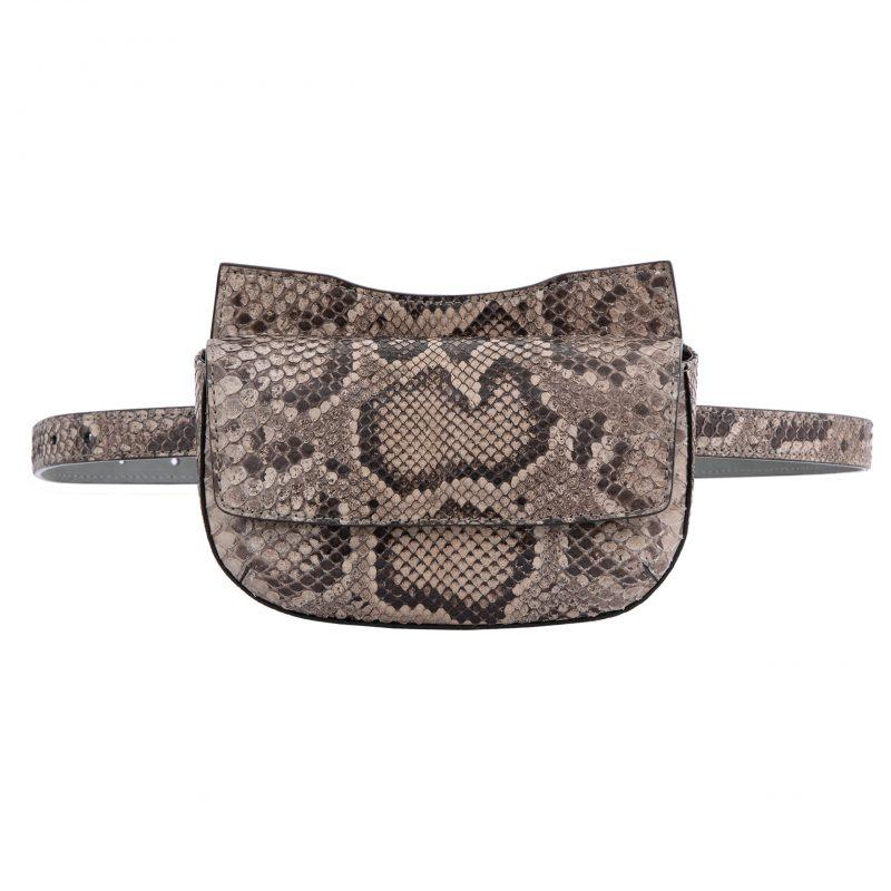 Fallow Beltbag in Nutmeg Python 1