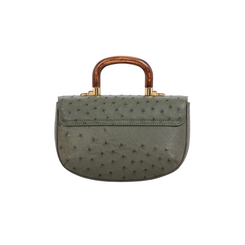 Picco in Forest Green Ostrich 4