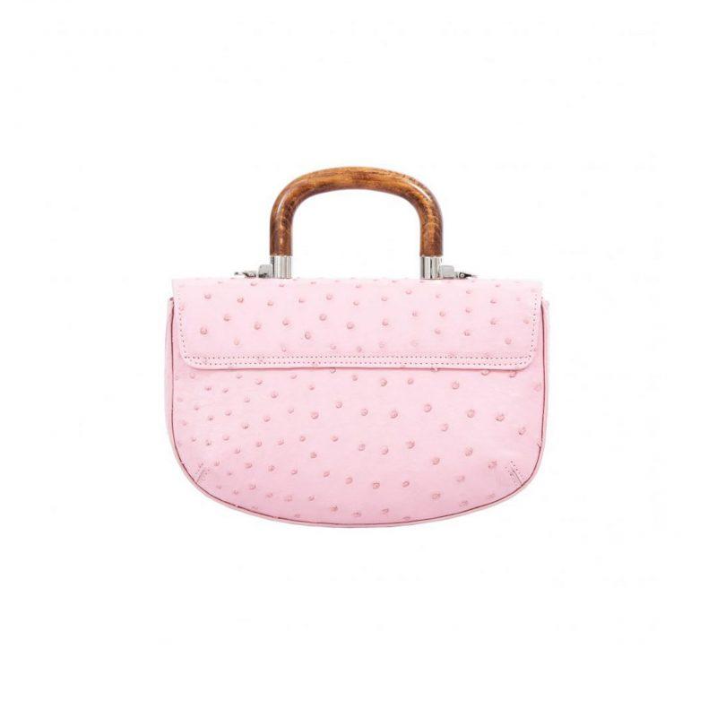 Picco in Powder Pink Ostrich 3