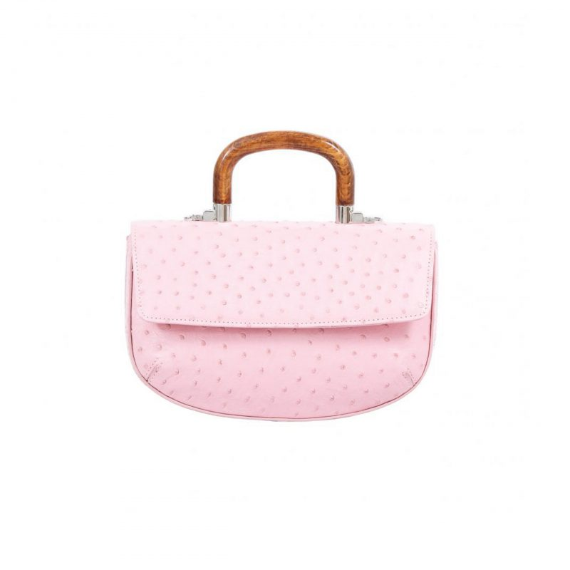Picco in Powder Pink Ostrich 1