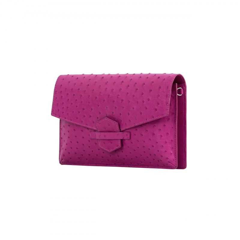 Ivy in Orchid Ostrich 2