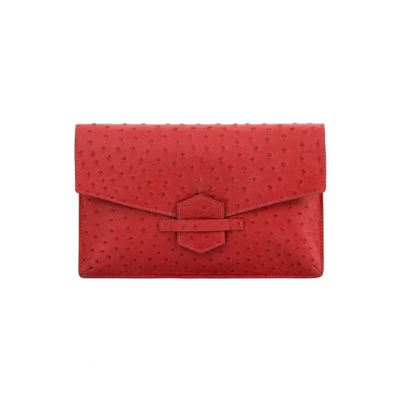 Ivy in Rouge Ostrich 1
