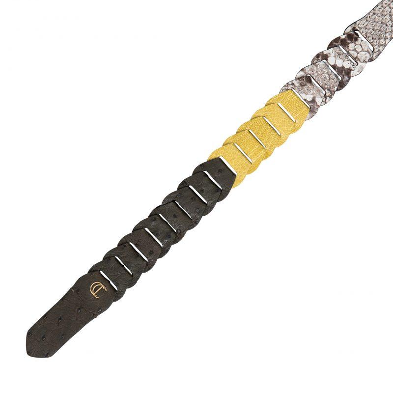 Shoulder Link Strap in Warm Olive Combination 1