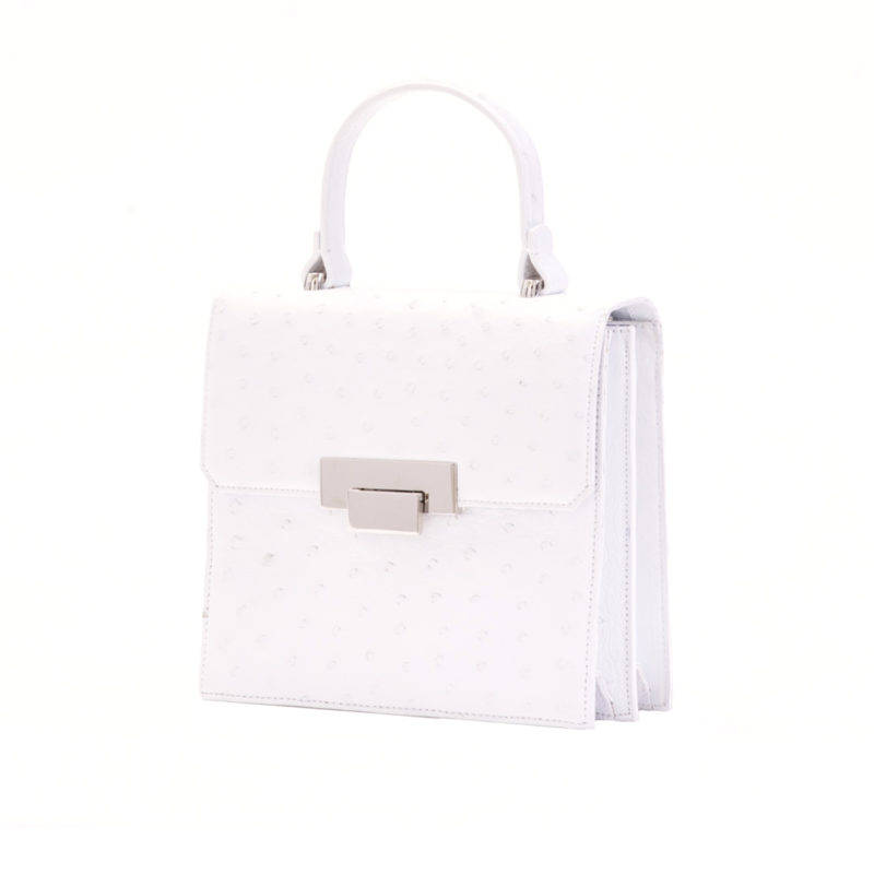 Le Meridian in White Ostrich 2