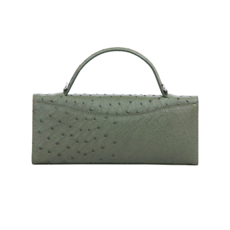 Oman in Forest Green Ostrich 4