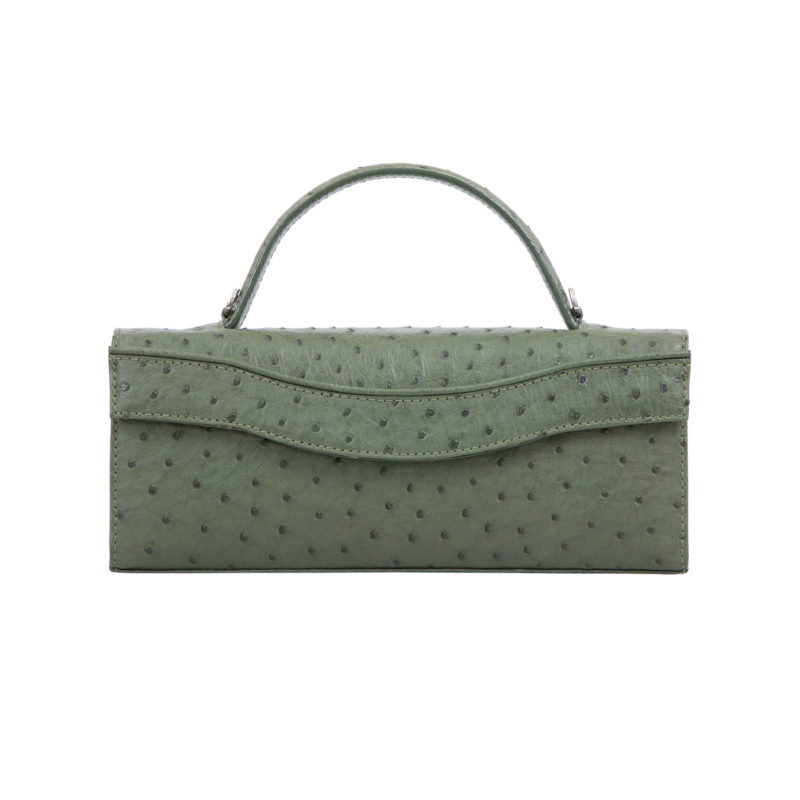 Oman in Forest Green Ostrich 3