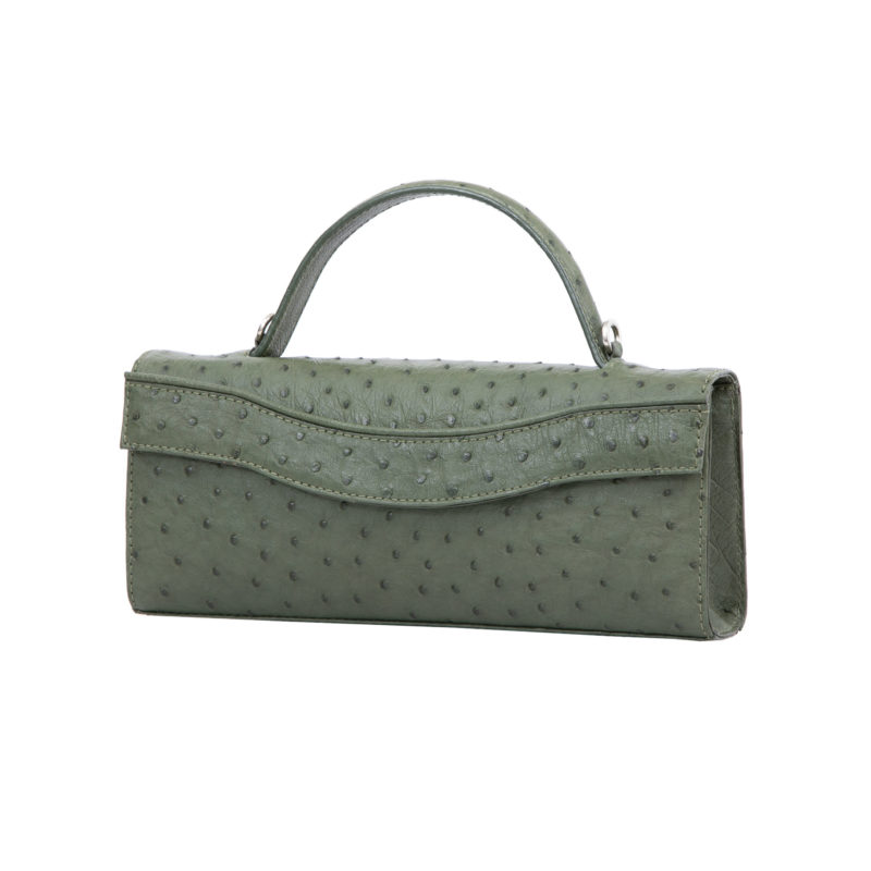 Oman in Forest Green Ostrich 2