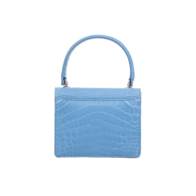 Mini Maxi in Sky Blue Crocodile 4