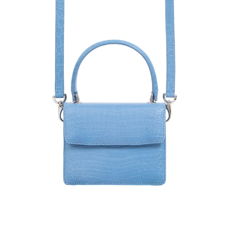 Mini Maxi in Sky Blue Crocodile 3