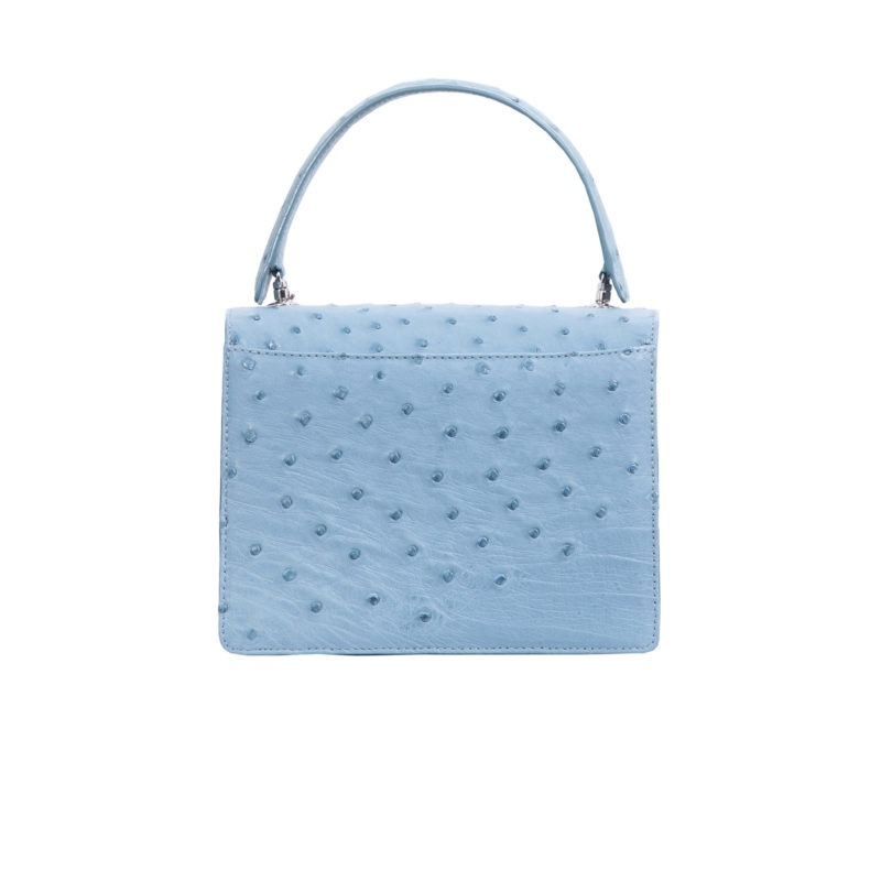 Maxi in Blue Jay Ostrich 4