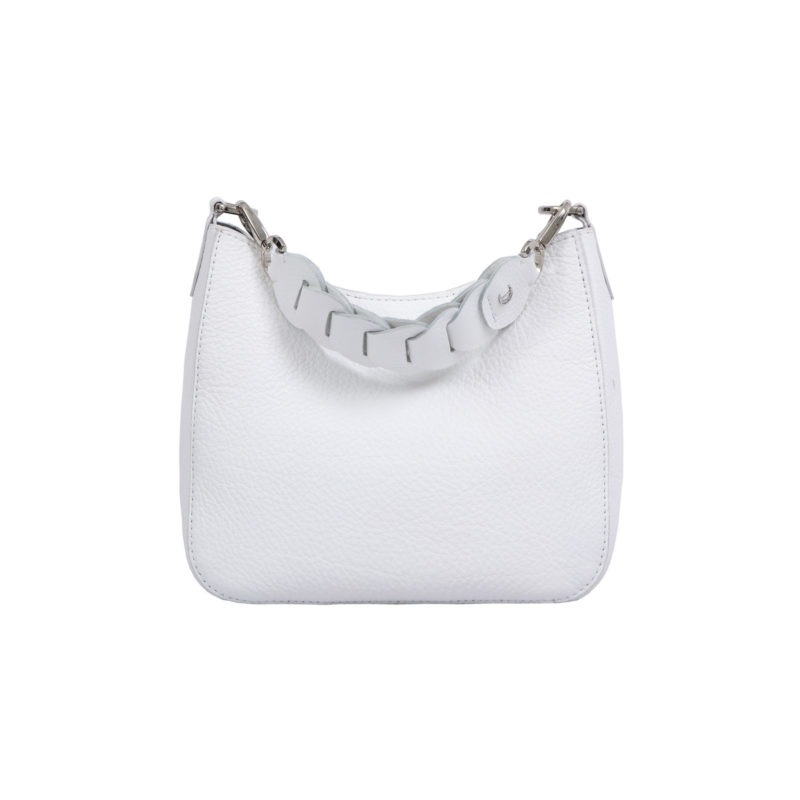 Mini Zoe in White Nappa 3