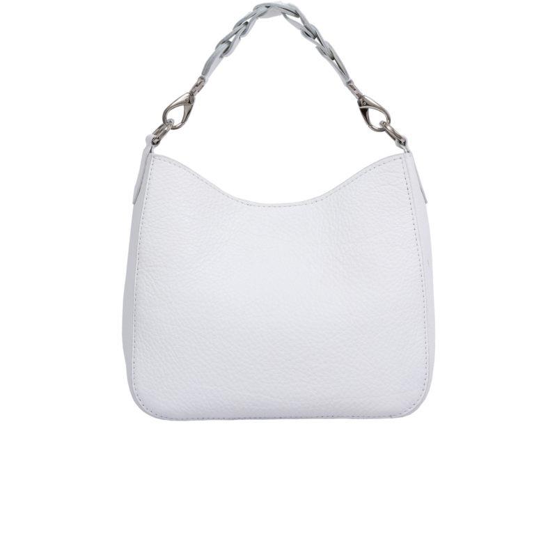 Mini Zoe in White Nappa 1