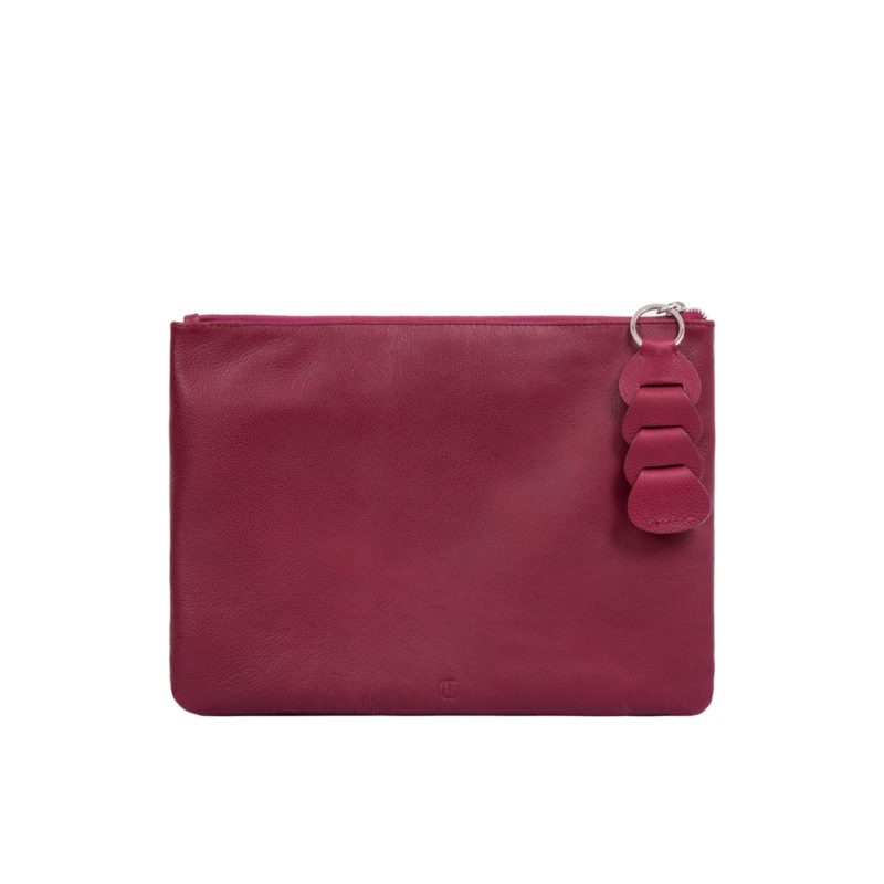 Ella clutch in Meadoc Nappa 4