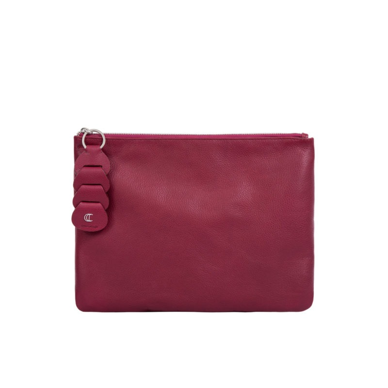 Ella clutch in Meadoc Nappa 1