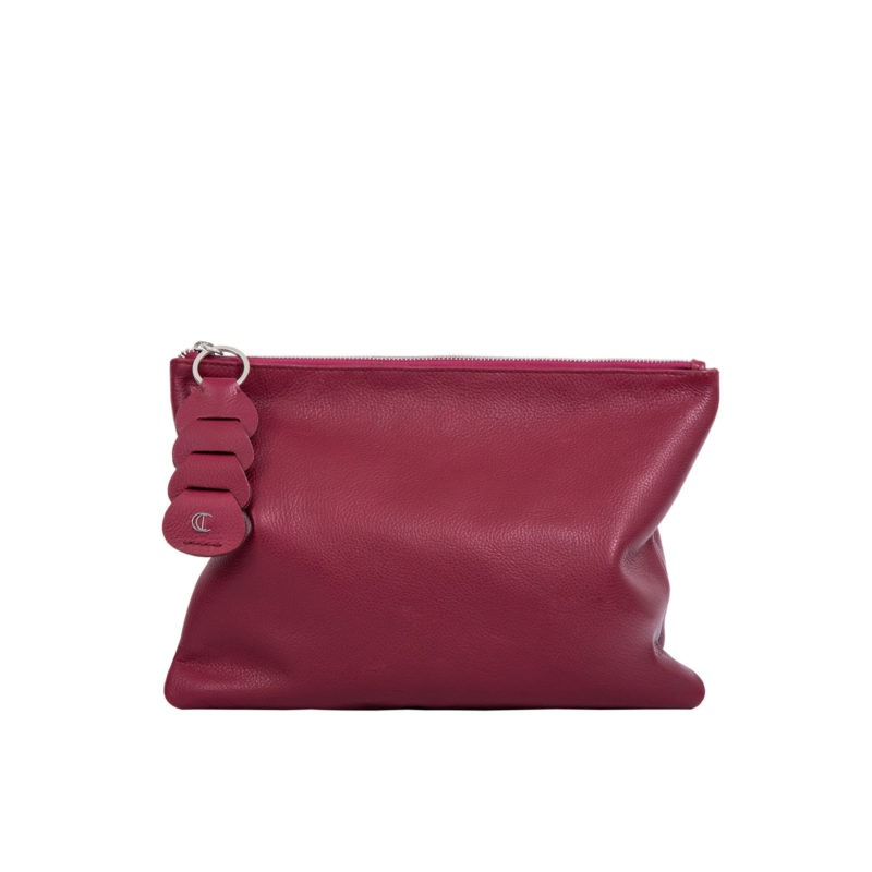 Ella clutch in Meadoc Nappa 3