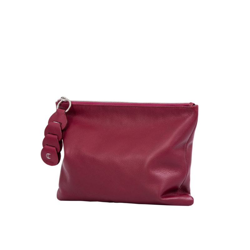 Ella clutch in Meadoc Nappa 2