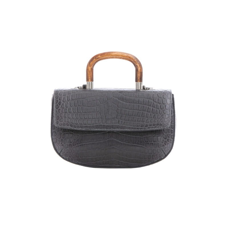 Picco in Anthracite Crocodile 1