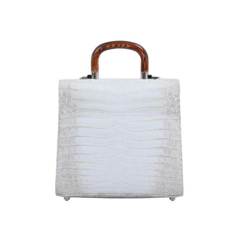 Mona Medium Bag in Himalayan Crocodile 3