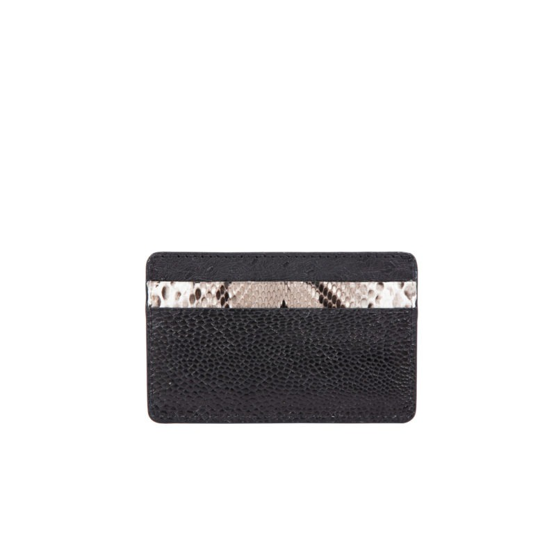 Fall card holder in Black Combination 2
