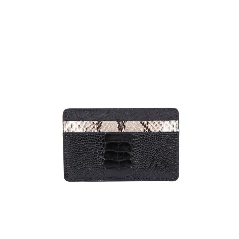 Fall card holder in Black Combination 1