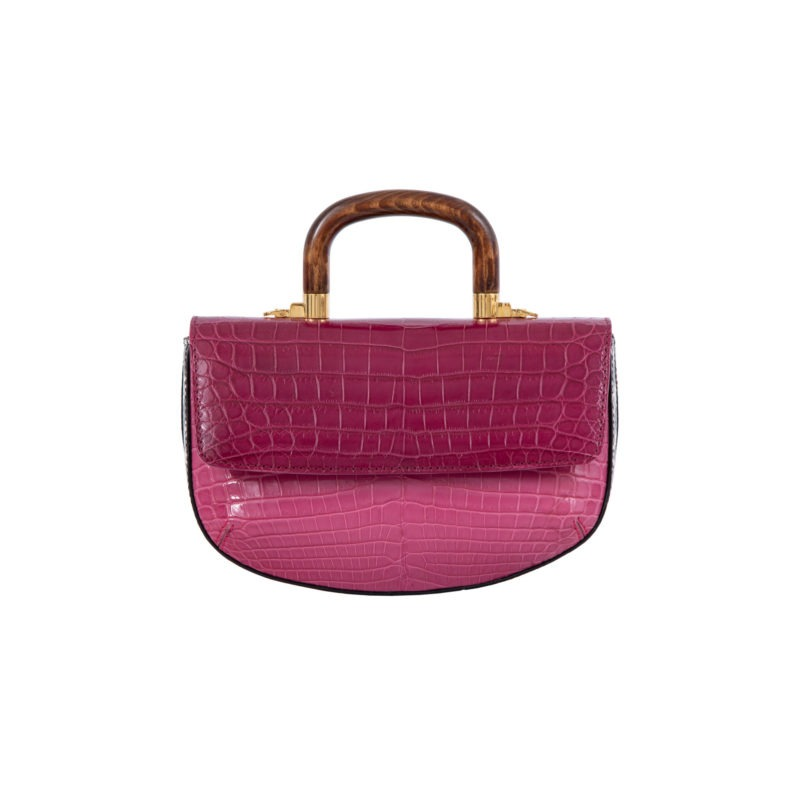 Picco in Mixed Pink Crocodile 1