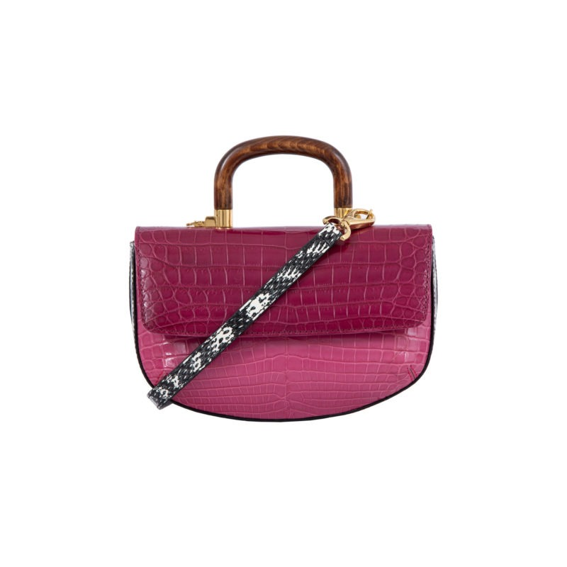 Picco in Mixed Pink Crocodile 4