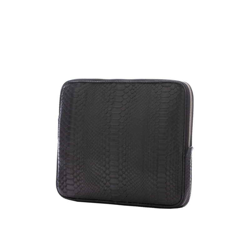 13 inch Laptop Case in Black Python 2