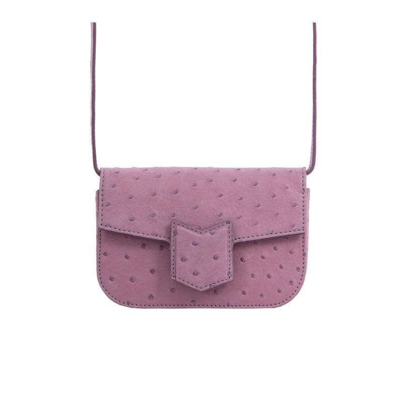 Mona Beltbag in Lavender Ostrich 3