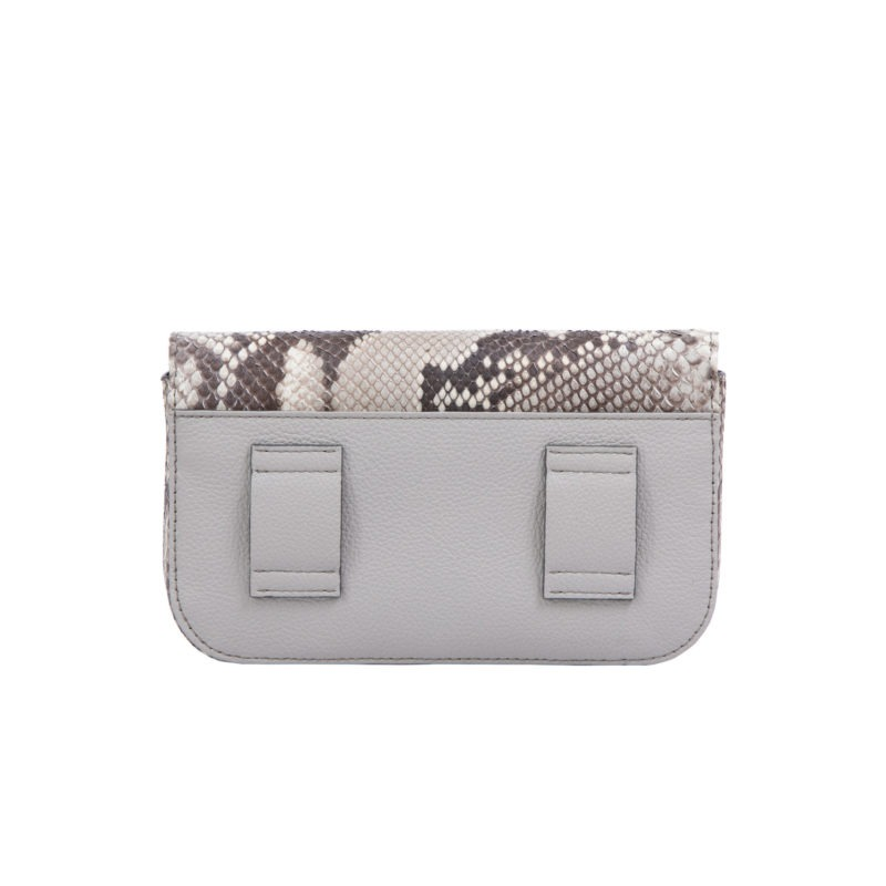 Caia Beltbag in Artic Ice Python & Crystal Nappa Combination 3