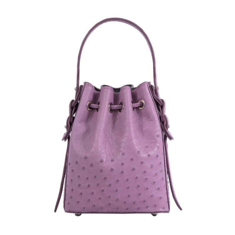 Trixie in Lavender Ostrich 3