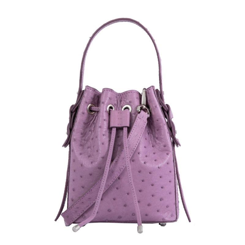 Trixie in Lavender Ostrich 1