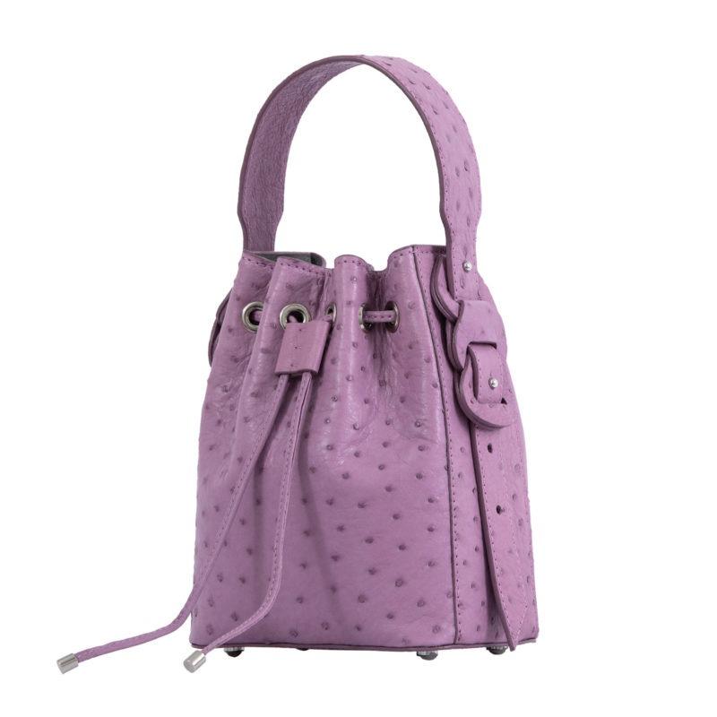 Trixie in Lavender Ostrich 2