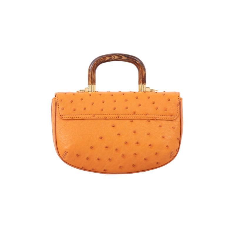 Picco in Apricot Ostrich 3