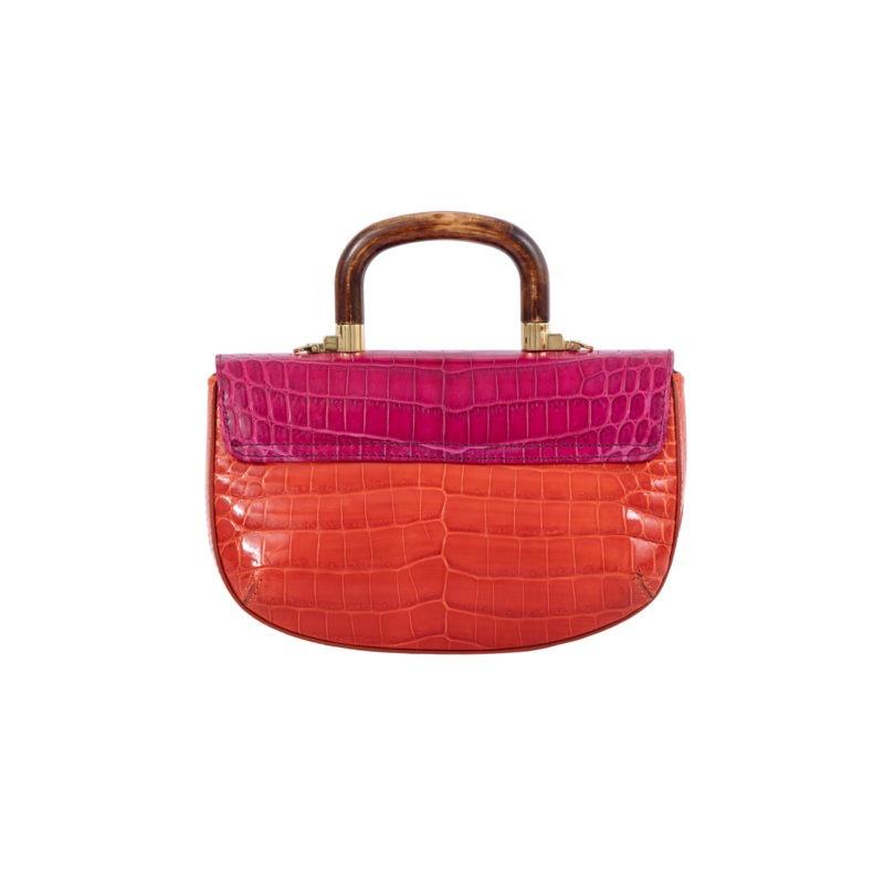 Picco in Pink/ Orange Crocodile 4