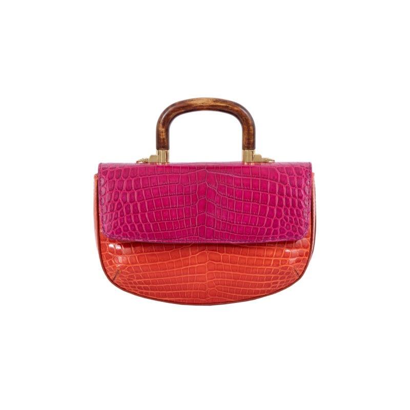 Picco in Pink/ Orange Crocodile 2